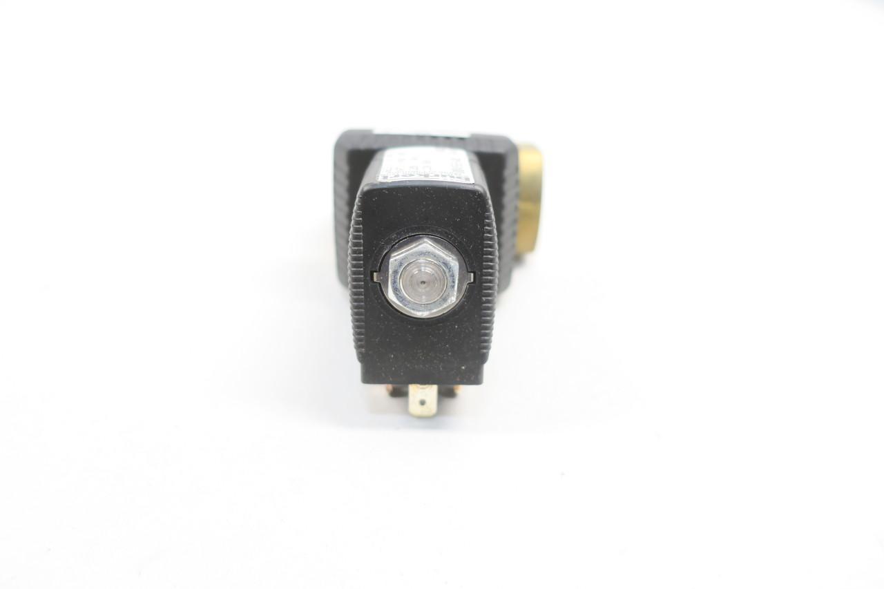 Burkert 6213 A 1//2 NBR BR Solenoid Valve 120v-ac 1//2in Npt