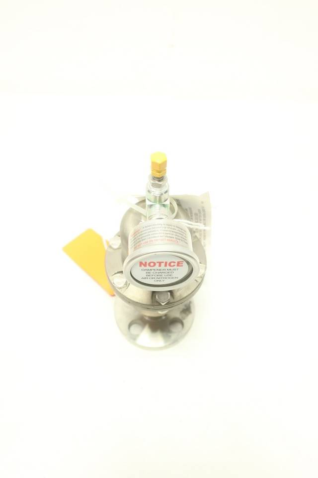 BLACOH CTS1020TF FLANGED STAINLESS PULSATION DAMPENER 1/2IN 150