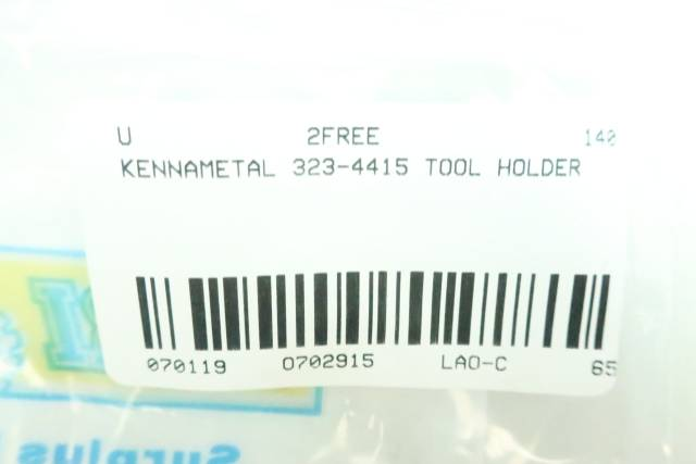 KENNAMETAL 323-4415 TOOL HOLDER