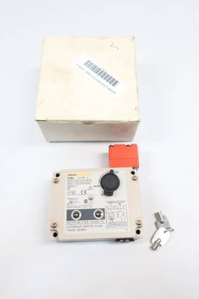 OMRON D4BL-3DRB-A SAFETY DOOR LOCK 115V-AC OTHER SWITCH