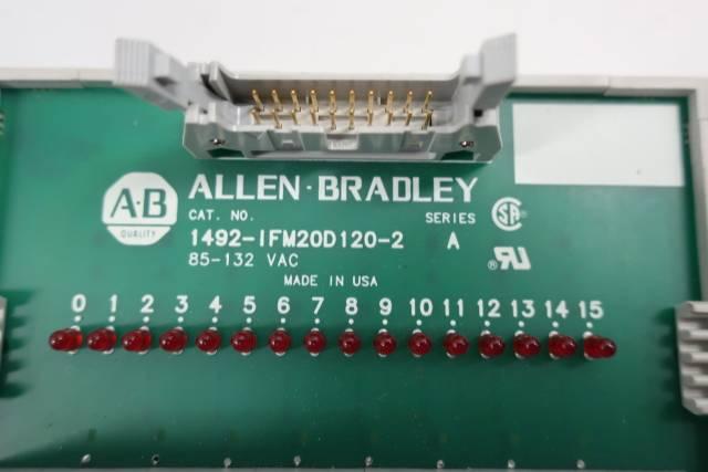 ALLEN BRADLEY 1492-IFM20D120-2 INTERFACE MODULE SER A