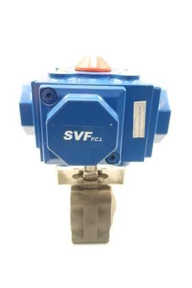 SVF C35 SR-2C IMP PNEUMATIC STEEL 3IN BALL VALVE