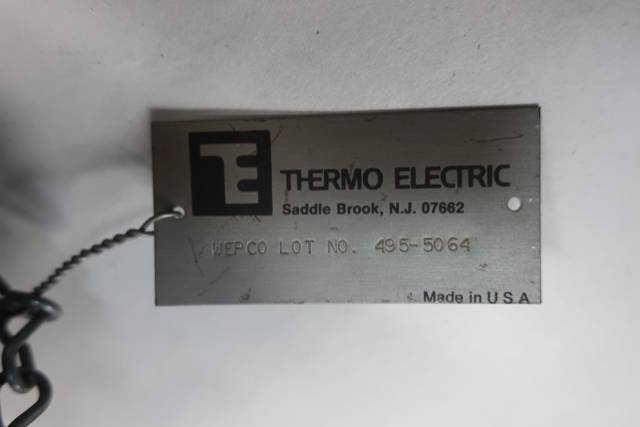 THERMO 15999-C-89861-78 1/4IN THERMOCOUPLE D660806