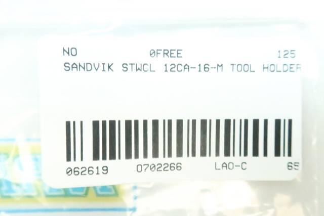 SANDVIK STWCL 12CA-16-M TOOL HOLDER