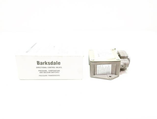 BARKSDALE P1H-B85 3-85PSI 600V-AC PRESSURE SWITCH