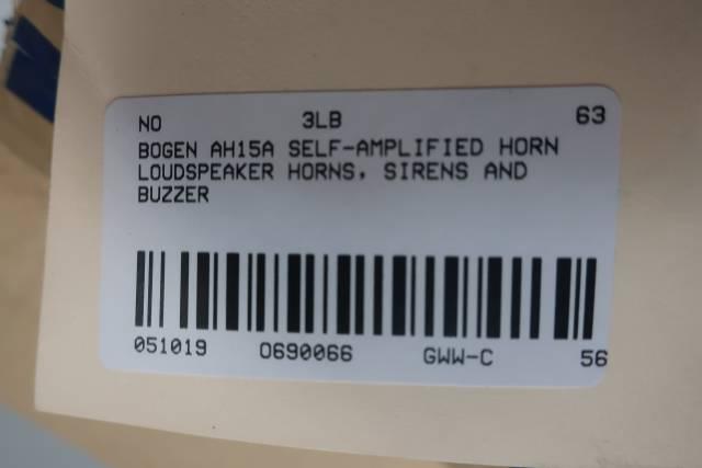 BOGEN AH15A SELF-AMPLIFIED HORN LOUDSPEAKER