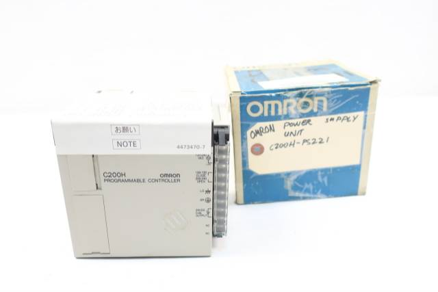 OMRON C200H-PS221 POWER SUPPLY MODULE 200-24V-AC 100VA