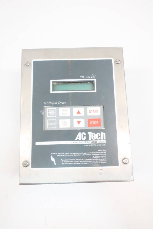 AC TECH M1410E MC SERIES AC MOTOR DRIVE 480V-AC 0-120HZ D638228