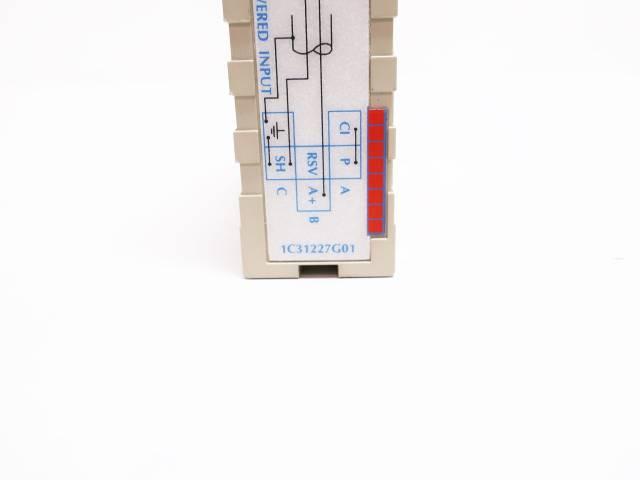 WESTINGHOUSE 1C31227G01 OVATION ANALOG CURRENT INPUT MODULE