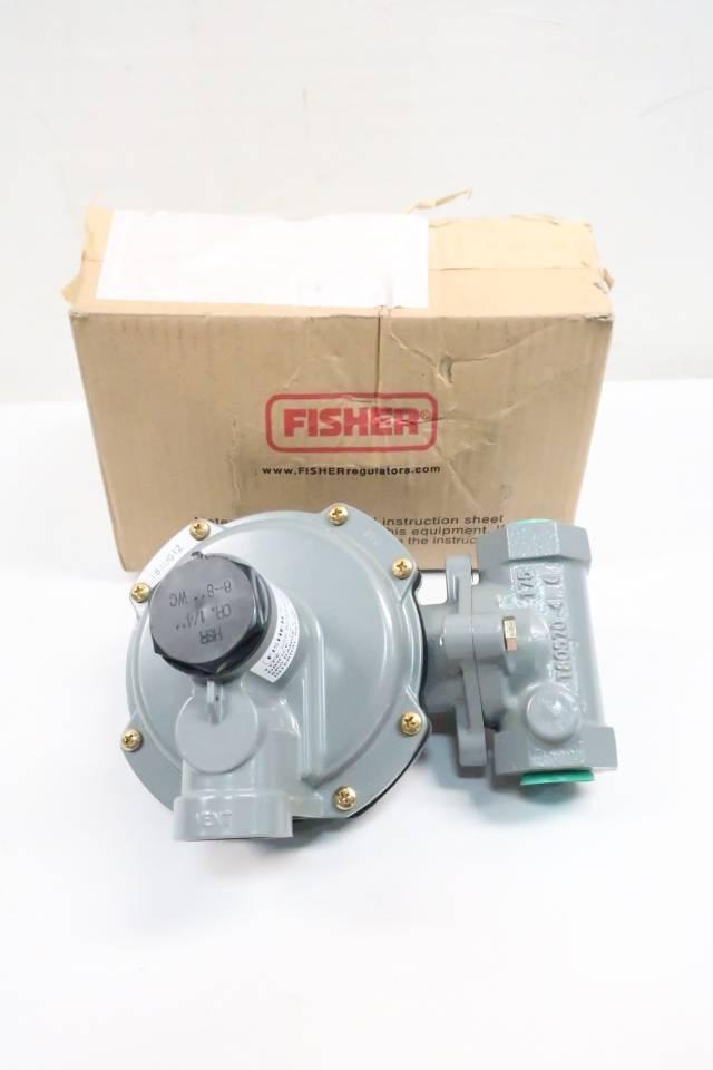 FISHER HSR-BDBAMYN IRON GAS REGULATOR VALVE 6-8IN WC 3/4IN NPT D620954