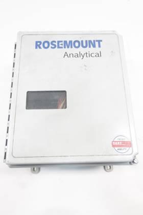 ROSEMOUNT ANALYTICAL 6A00178G01 OXYGEN MONITOR 115V-AC GAS TRANSMITTERS & ANALYZER