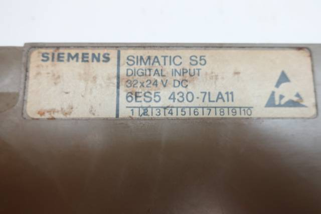 SIEMENS 6ES5 430-7LA11 SIMATIC S5 INPUT MODULE