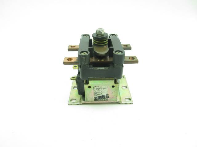 GENERAL ELECTRIC GE IC4482CTTA100AH142XN TYPE A 36/48V 80A AMP CONTACTOR D590482
