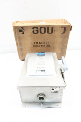 GOULD NF-351SS I-T-E VACU-BREAK HEAVY DUTY SAFETY 30A 600V-AC OTHER SWITCH