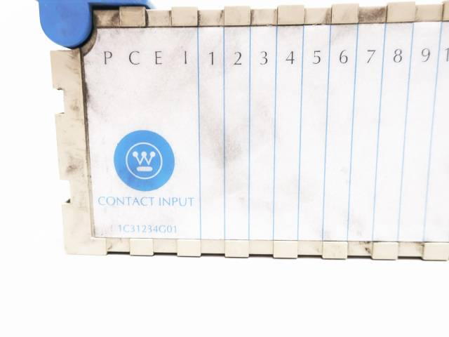 WESTINGHOUSE 1C31234G01 OVATION CONTACT INPUT MODULE