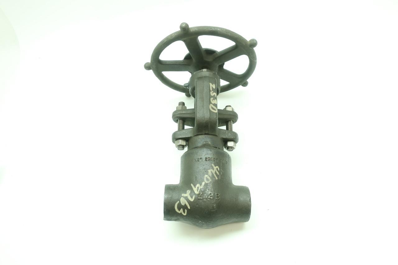 HENRY VOGT 216592 Manual Steel Socket Weld Globe Valve 600 1//2IN