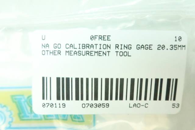 GO CALIBRATION RING 20.35MM