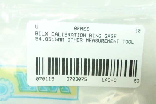 BILX CALIBRATION RING 54.8515MM
