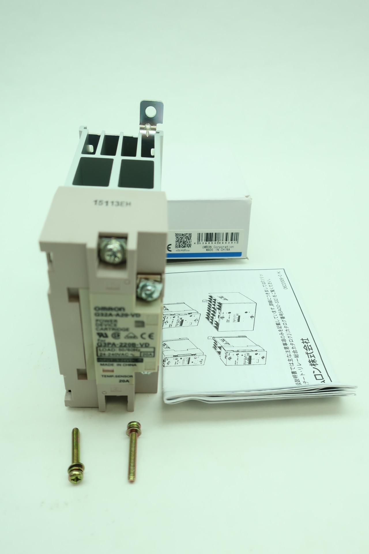 Omron G3PA-220B-VD Solid State Relay 20A