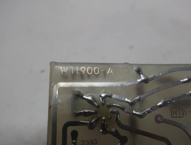 STOCK EQUIPMENT W11900-A SIGNAL CONVERTER PCB CIRCUIT BOARD R690915