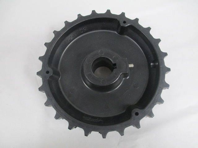 BUDD 150HS-25 25-TEETH BLACK DOUBLE ROW 1 IN SPROCKET D212763