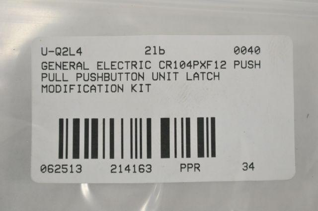 GE CR104PXF12 Push-Pull Modification Kit