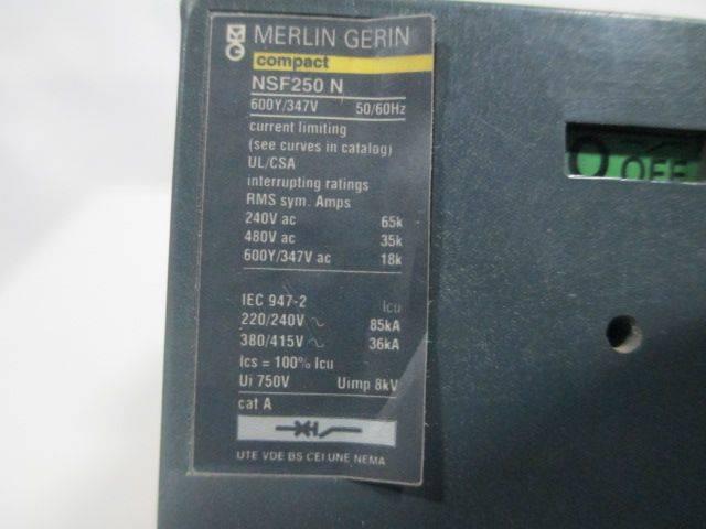 NSF250N Merlin Gerin