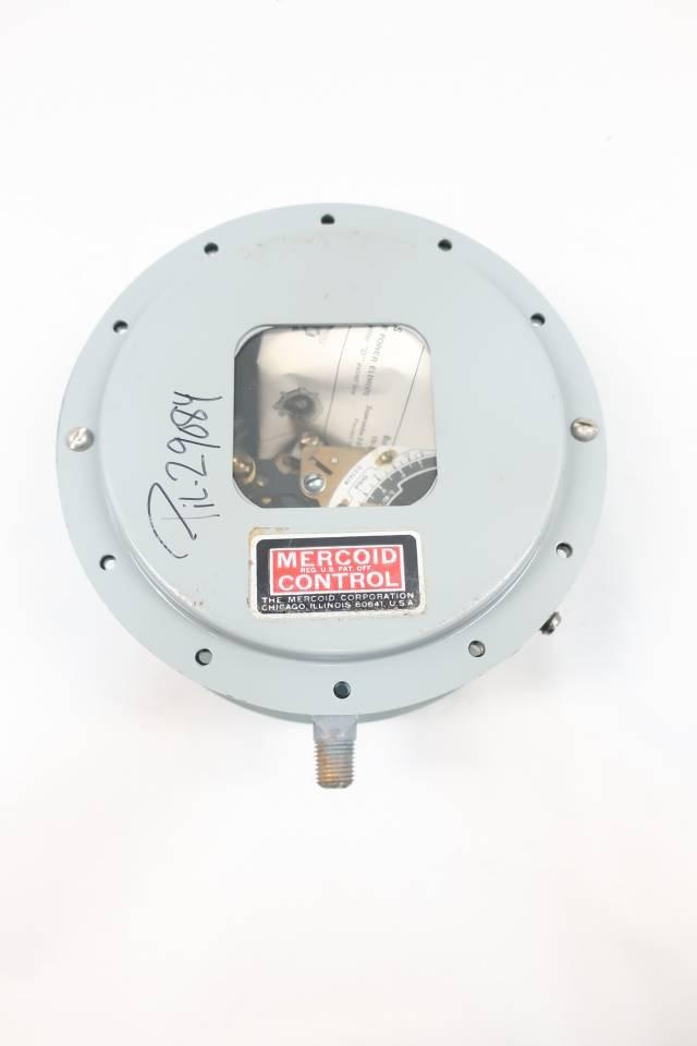 MERCOID DAW-533-2 PRESSURE SWITCH 1/4IN 1/8-15PSI 120/240V-AC 120/240V-DC