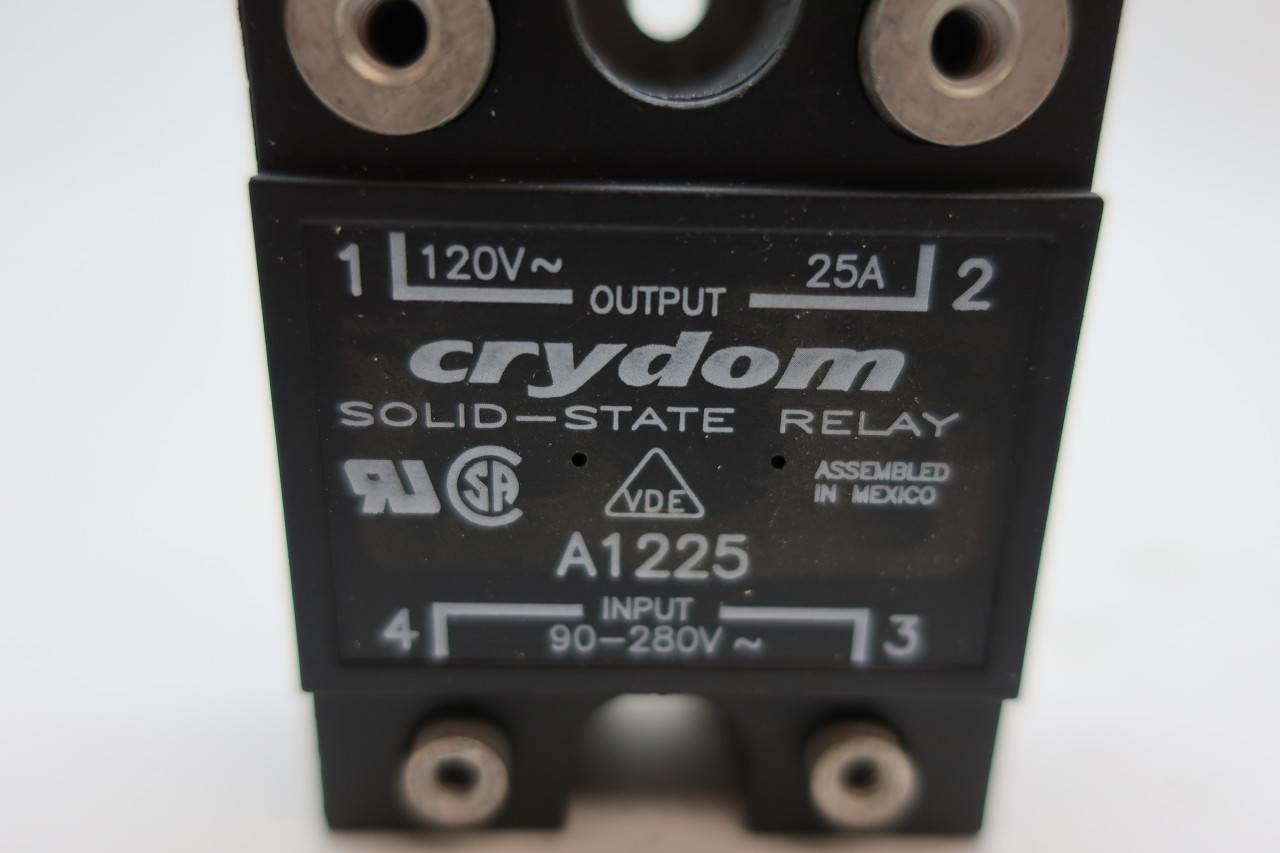 NEW CRYDOM A1225 SOLID STATE RELAY 90-280V
