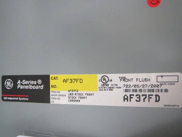 GENERAL ELECTRIC AQF3421CTX AXB7 PANEL BOARD 125A CIRCUIT BREAKER B244038