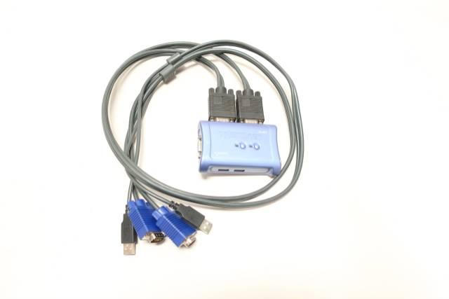 TRENDNET TK-207 2-PORT USB KVM SWITCH KIT