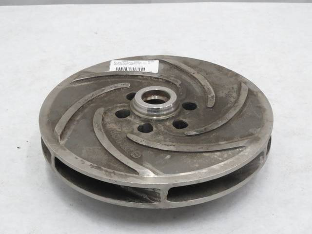 SULZER AHLSTROM A890SA 1IN ID 10IN OD PUMP IMPELLER REPLACEMENT PART B248805