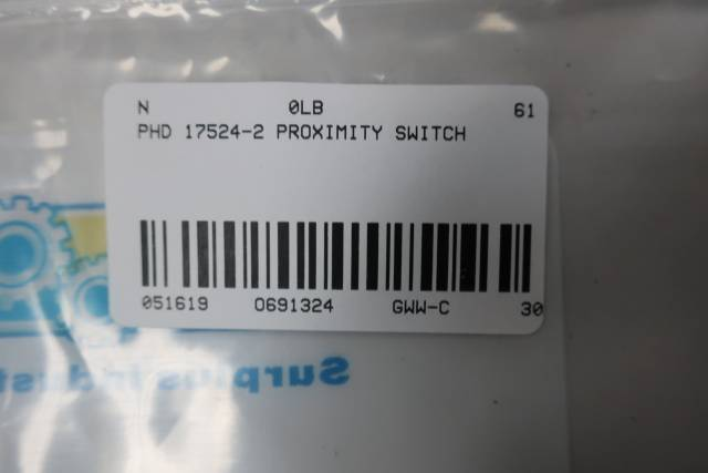 PHD 17524-2 CYLINDER PROXIMITY SWITCH