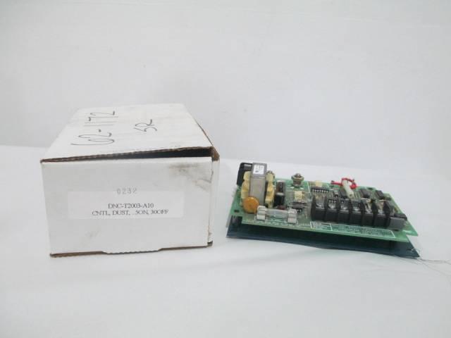 NCC DNC-T2003-A10 AMETEK DUST COLLECTOR CONTROLS BOARD AC PULSE 135V D259144