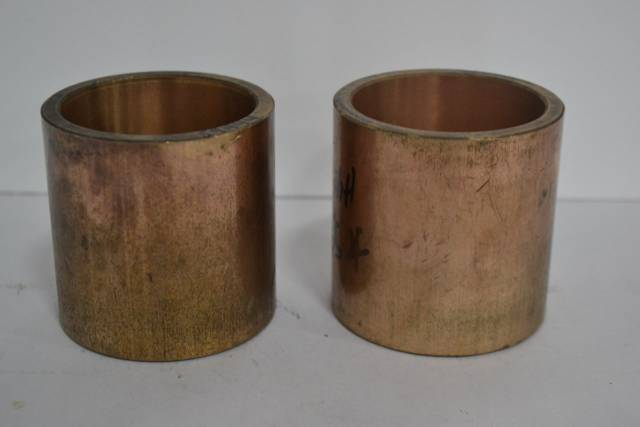 LOT 2 NEW A ONE 35 BRONZE 3IN OD 2-1/2IN ID 3IN LENGTH BUSHING D266774
