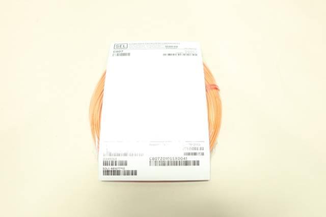 SEL C807Z010SSX0041 FIBER-OPTIC CORDSET CABLE 41M