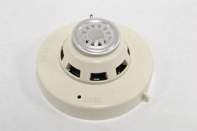SIMPLEX 2098-9202 FIRE ALARM SMOKE HEAT DETECTOR HEAD 24V-DC SAFETY B270820
