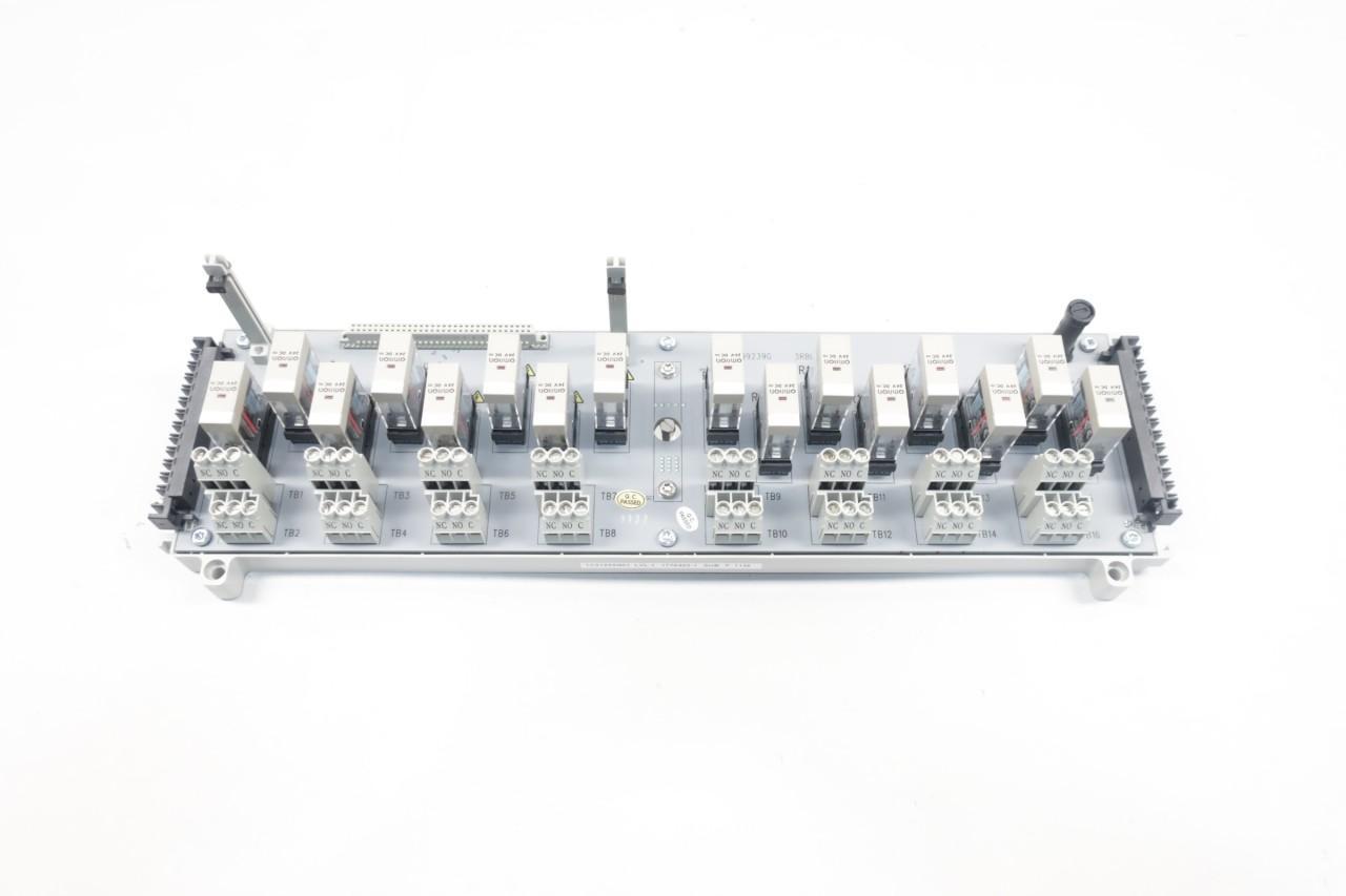 Westinghouse 1C31223G01 Ovation 16 Relay Base Assembly Pcb Board