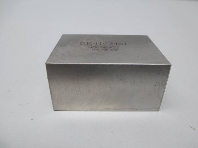 D&N MACHINE RK4103457 STAINLESS GUIDE BLOCK 2X1-1/2X1IN D272475