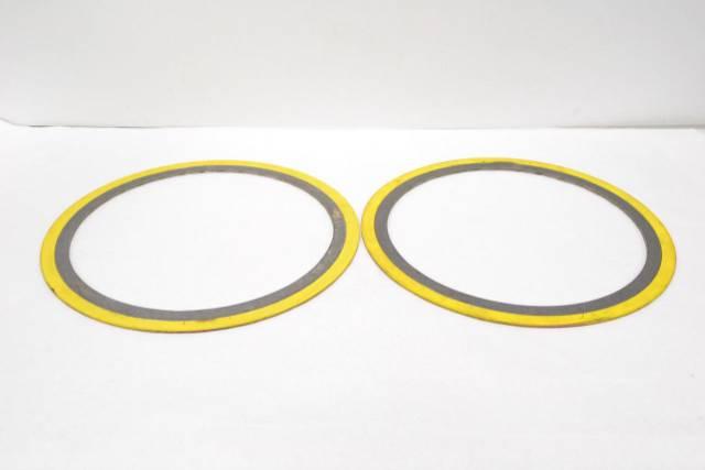 LOT 2 NEW FLEXITALLIC B16 20 150 SPIRAL WOUND GASKET SIZE 12IN FLEX SEAL  B281199