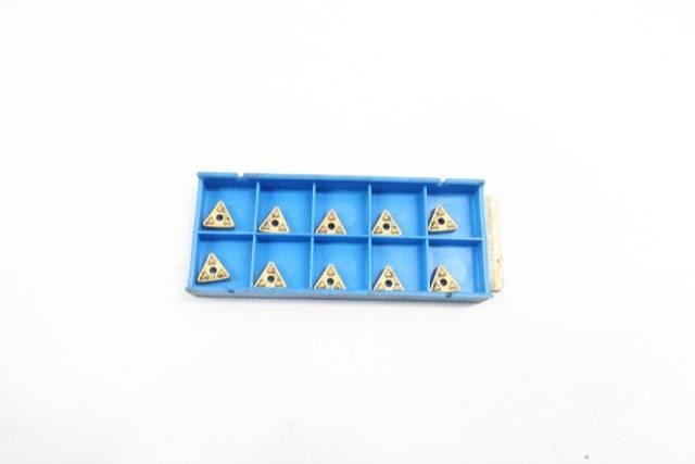 BOX OF 10 VALENITE TNMG-222-GF CARBIDE INSERTS