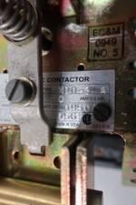 EC&M 7004 MXDO-3 LINE ARC DC CONTACTOR 115/120V-DC 50A D648059
