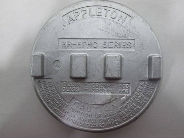 Appleton Grx75 A Junction Box Aluminum 3 4in Explosion