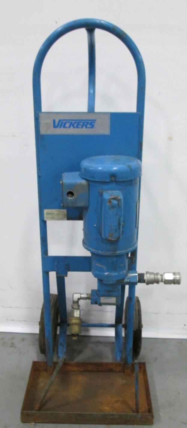 VICKERS V10 1S5S 1D20 BALDOR 3/4HP 230V-AC 1725RPM VANE HYDRAULIC PUMP  D296513