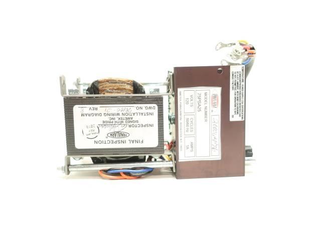 PANALARM 75PSA25 120V-AC 1 AMP POWER SUPPLY MODULE