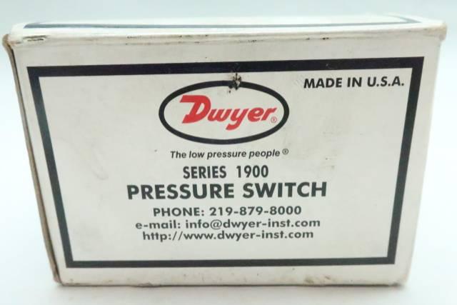 DWYER 1910-5 PRESSURE SWITCH 45IN-WC 480V-AC