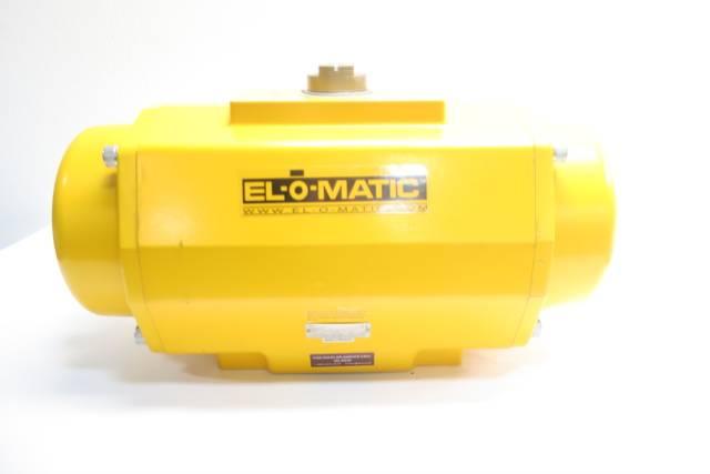 EL-O-MATIC ES1600 U1A04A 46K0 PNEUMATIC VALVE ACTUATOR 116PSI D599521