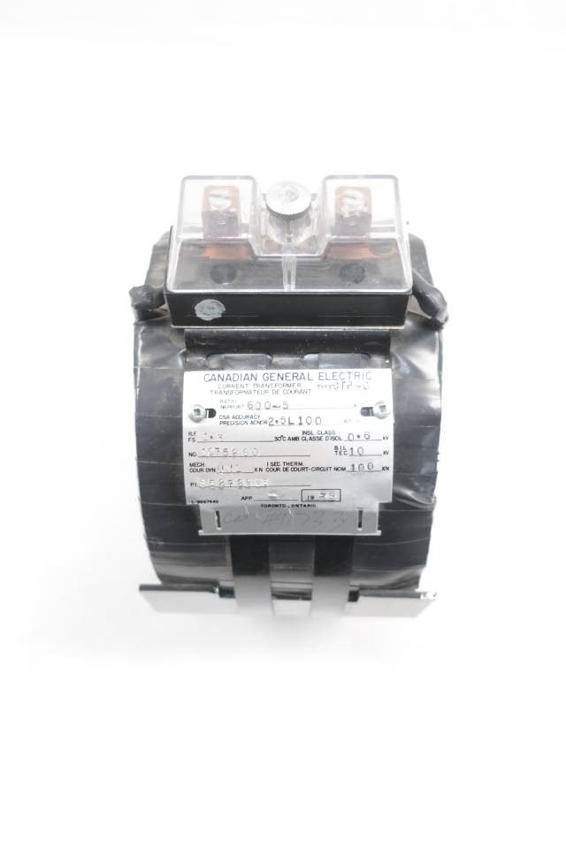 GENERAL ELECTRIC GE CTP-0 600:5 CURRENT TRANSFORMER D660470