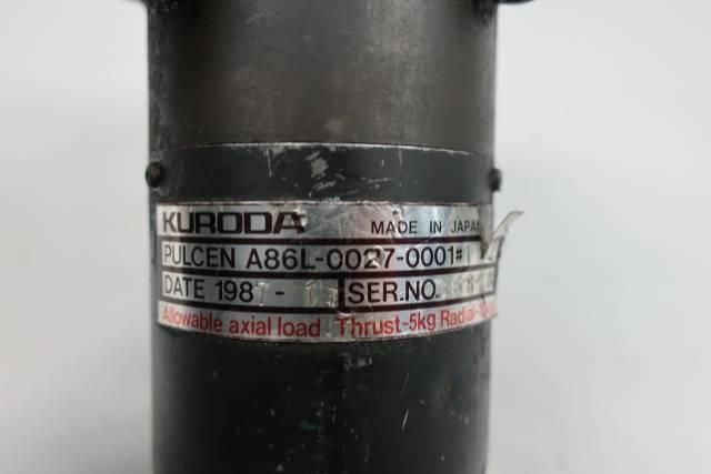 KURODA PULCEN A86L-0027-0001# ROTARY ENCODER 25MM
