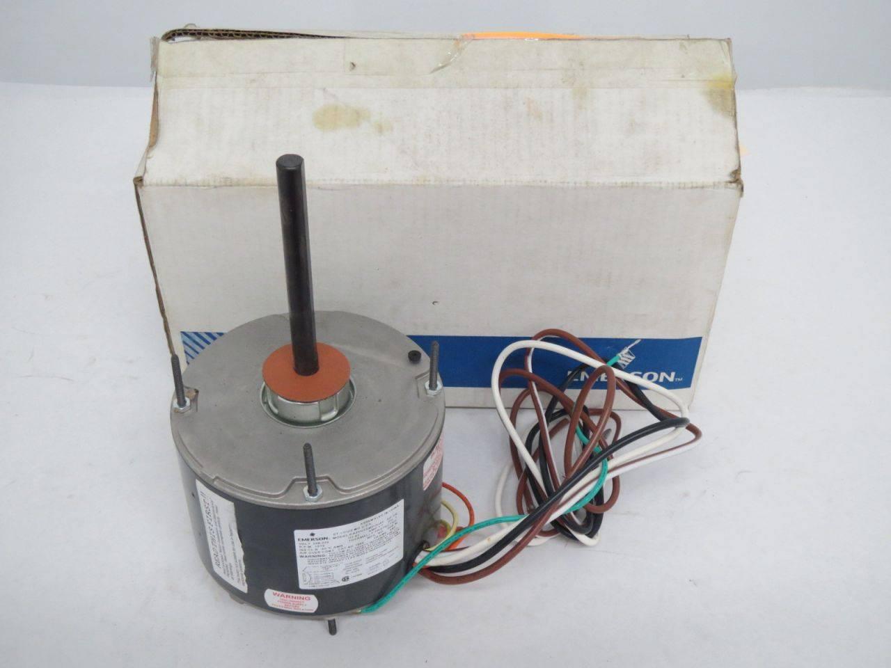 EMERSON KA55HXBPK-1315 Blower Motor 1//3HP 115V 1140RPM 3SPD 1PH 1067-620